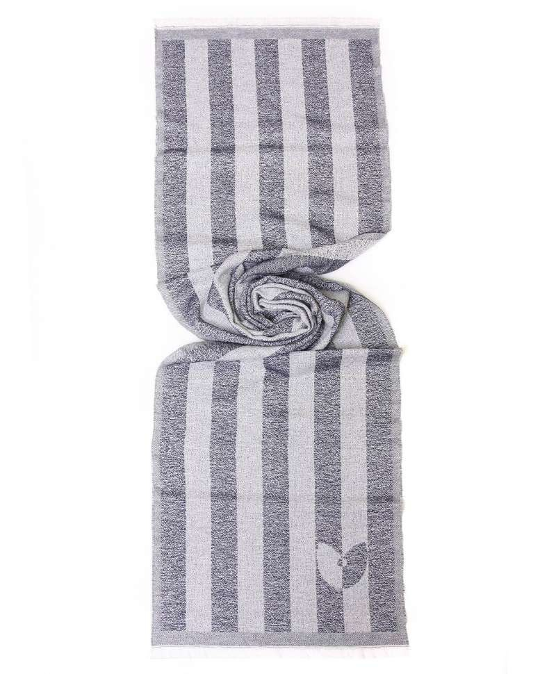 Полосатый шарф серый GianFranco Ferre 13923