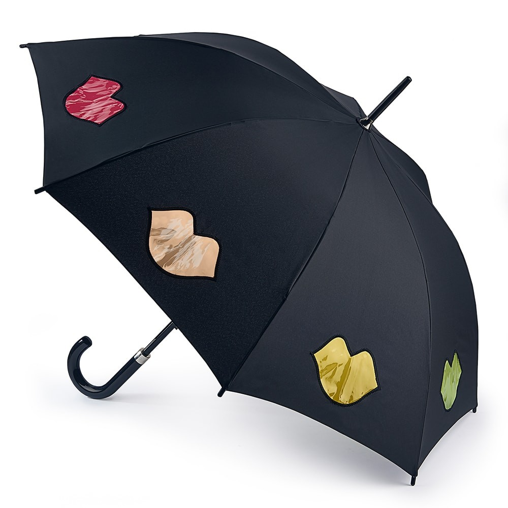 Зонт трость женский Fulton L764-3659 RainbowLips