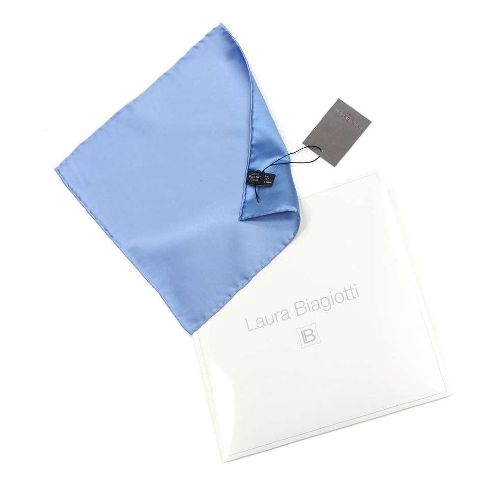 Мужской голубой карманный платок Laura Biagiotti 812322